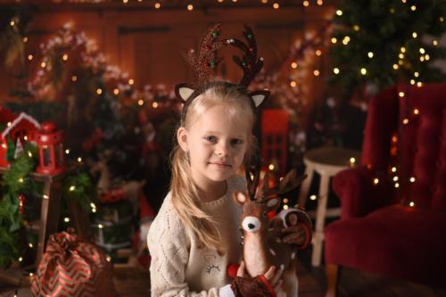Sesja świąteczna Oli