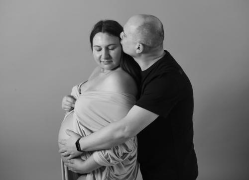 sesja ciążowa Asi